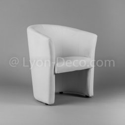 Location Fauteuil Club Blanc