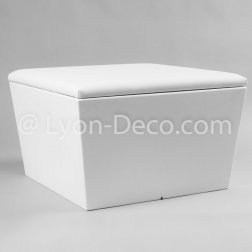 Location Pouf Flex Lounge Blanc