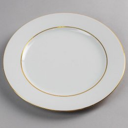 Location Assiette Plate Filet Or Roma 21cm