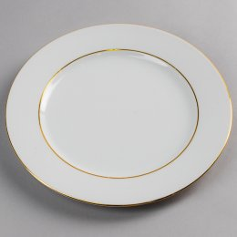 Location Assiette Plate Filet Or Roma 26cm