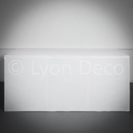 Location Buffet Design Blanc