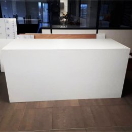 Location Buffet Design PVC Blanc