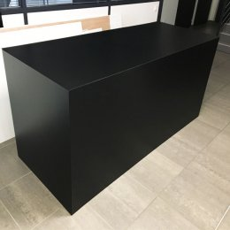 Location Buffet Design PVC Noir