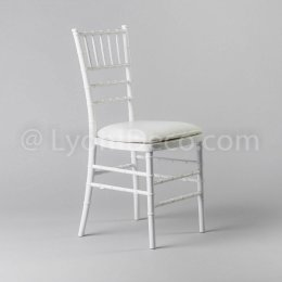 Location Chaise Chiavari Blanche