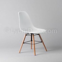 Location Chaise Scandi blanche