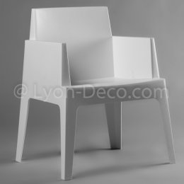 Location Fauteuil Slate Blanc