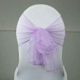 Location Noeud de Chaise Organza Parme