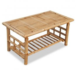 Location Table Basse Bambou Naturel
