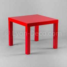 Location Table Basse Rouge