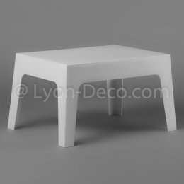 Location Table Basse Slate Blanche