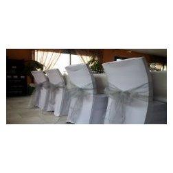 Location housse de chaise plantes artificielles centre de table - Location housse de chaise lyon ...