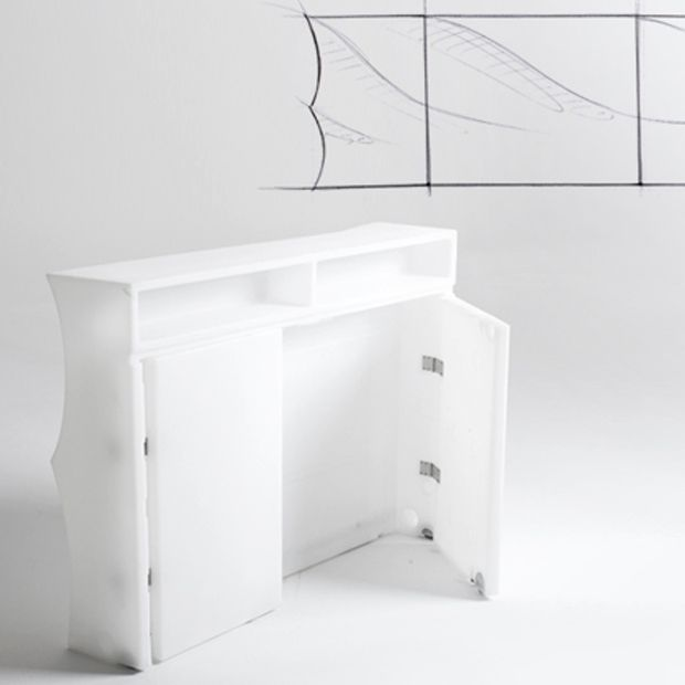 Bar Droit Mouv Design Blanc