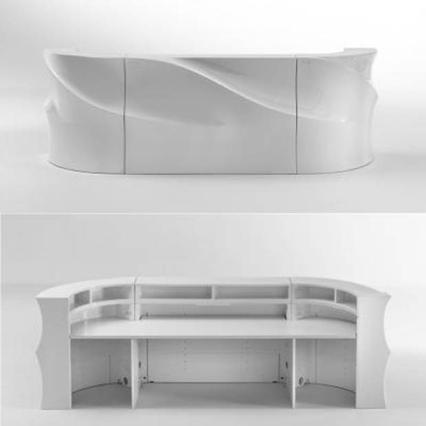 Bar Mouv Design Blanc Recto Verso