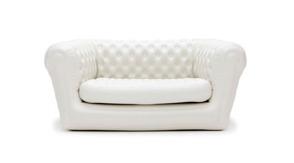 Location canape chesterfield gonflable blanc
