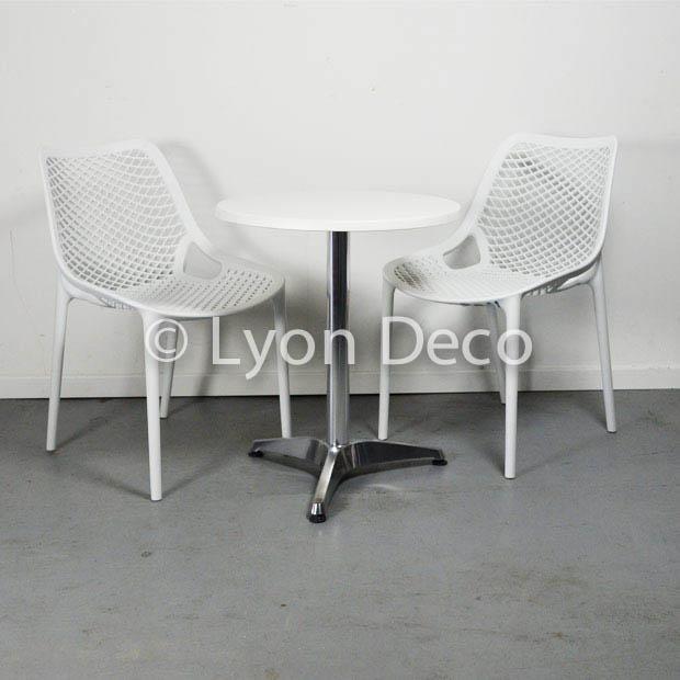 Location chaise della blanche mod le nid d 39 abeille polypropyl ne - Location housse de chaise lyon ...
