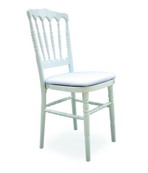 Chaise Napoleon 3 Blanche