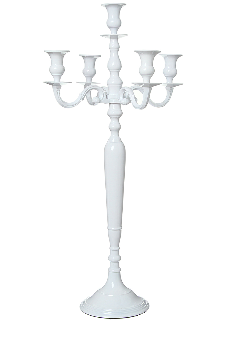 location chandelier blanc h 80cm 5 branches sur lyon et vienne. Black Bedroom Furniture Sets. Home Design Ideas
