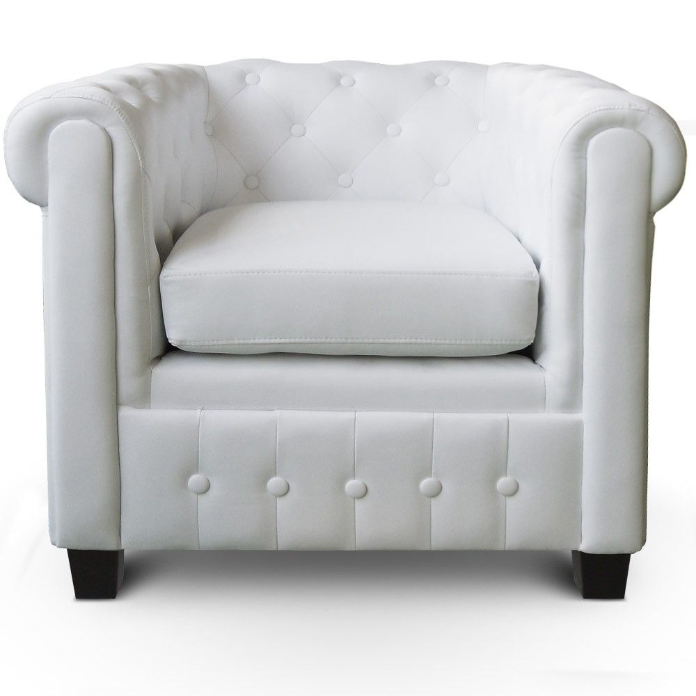location de fauteuil chesterfield blanc sur lyon et vienne so british. Black Bedroom Furniture Sets. Home Design Ideas