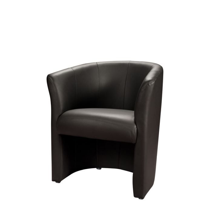 location fauteuil club lounge noir disponible sur lyon et. Black Bedroom Furniture Sets. Home Design Ideas