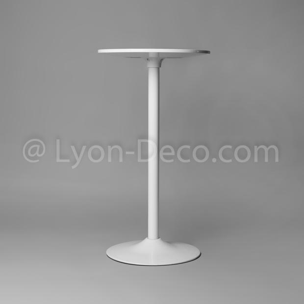 Table mange debout blanc laqu trendy table mange debout pas cher awesome table de salle manger - Table mange debout blanc laque ...