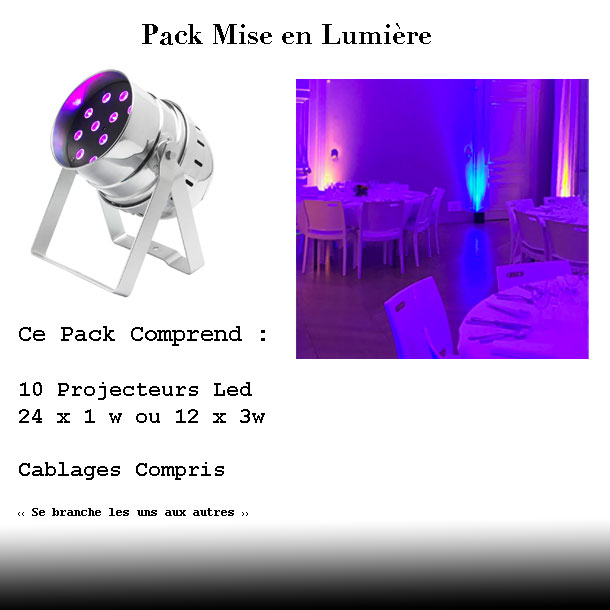 Pack eclairage salle