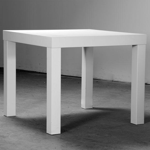 Table Carree Blanche: Location Table Basse Carré Blanche Pour Toutes Vos Réceptions