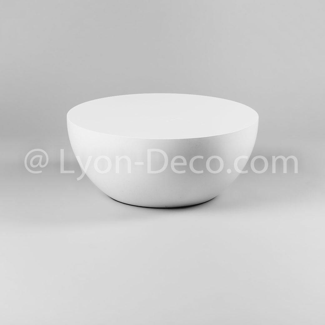 Basse Sphère Table Demi Boom Design Blanche Modèle Location Xl LzjUpMGSVq