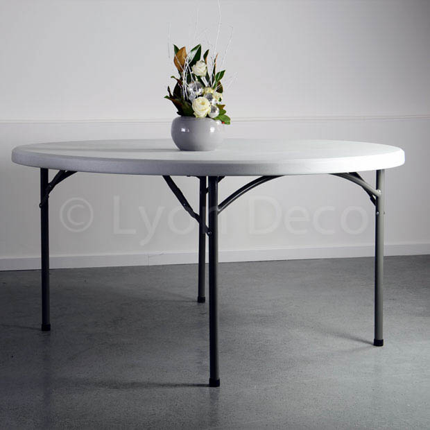Location table ronde 152 cm
