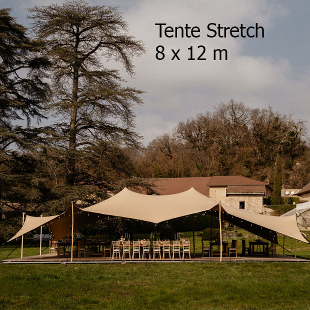 Location Tente Nomade 96M2