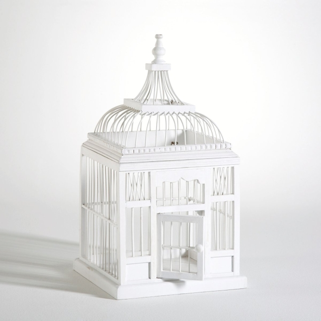 lyon deco location urne cage oiseau blanche pour tous vos vnements. Black Bedroom Furniture Sets. Home Design Ideas