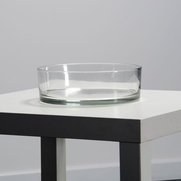 Location vases verre plat sur lyon - Vase en plastique pour centre de table ...