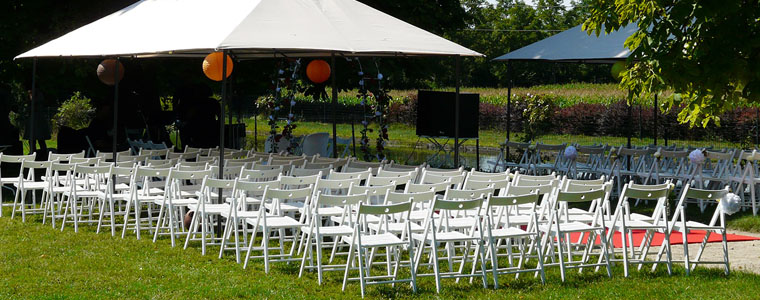 Location chaise pour ceremonie laique