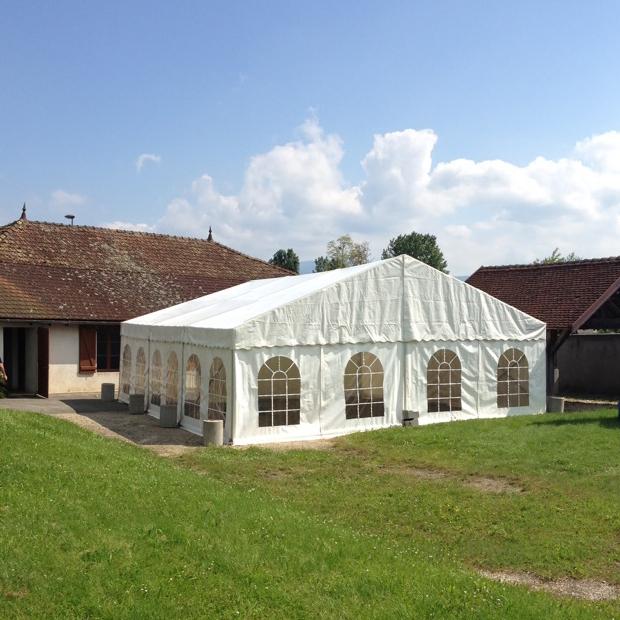 Location Chapiteau Blanc