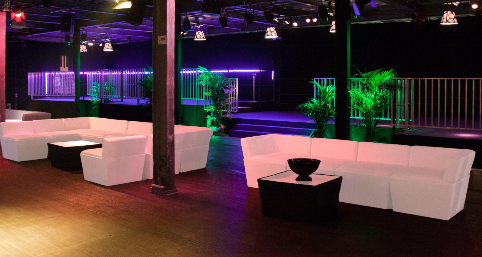 Location Mobilier Flex Lounge Blanc